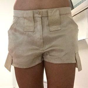 PATRIZIA PEPE Beige Shorts/Sz6